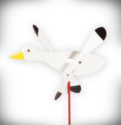 Whirly Bird Snow Goose Spinner
