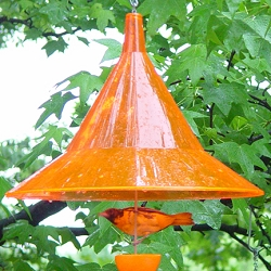 Mandarin Hanging Baffle Sunset Orange