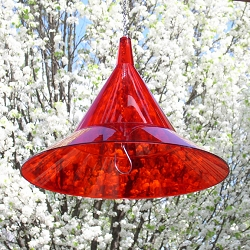 Hummer Sun Hat Ruby Red Baffle