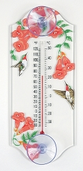Hummingbird Classic Window Thermometer