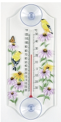 Goldfinch Classic Window Thermometer