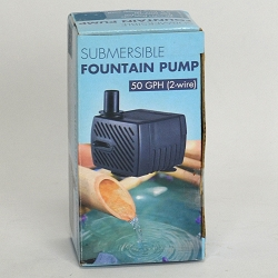50 GPH Submersible Fountain Pump