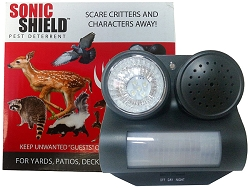 Sonic Shield Pest Deterrent For Home and Garden