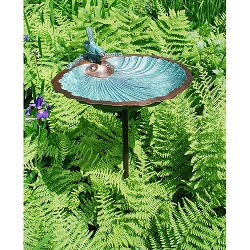 Achla Scallop Shell Birdbath Bowl