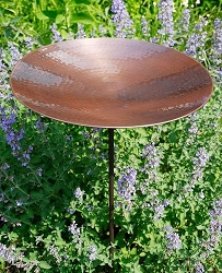 Achla Burnt Copper Birdbath