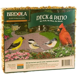 Birdola Deck & Patio Seed Cake 2/Pack
