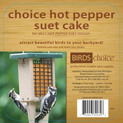 Choice Hot Pepper Suet Cake 12/Pack