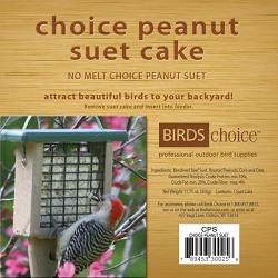 Choice Peanut Suet Cake 12/Pack