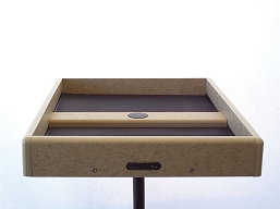 Birds Choice Recycled Pole Mount Seed Catcher Platform 20