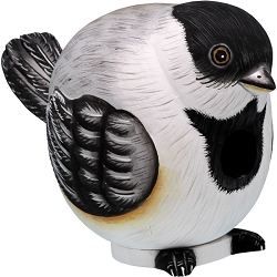 Chickadee Ball Birdhouse