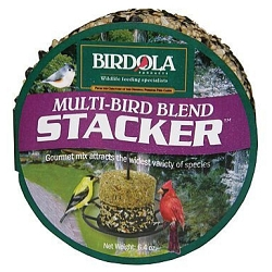 Birdola Multi-Bird Blend Stacker Cake 6/Pack