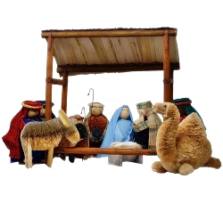 Brushart Nativity Set 12 Piece
