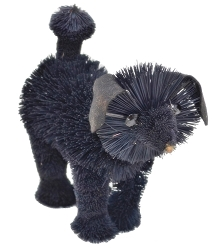 Brushart Dog Black Poodle 7