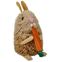 Brushart Rabbit with Carrot 6