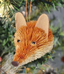 Brushart Fox Bauble Ornament