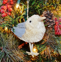 Brushart Bird Ornament Seagull