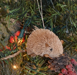 Brushart Mouse Ornament