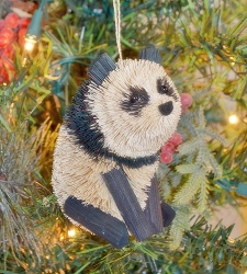 Brushart Panda Ornament