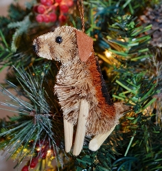 Brushart Dog Ornament Beagle