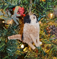 Brushart Dog Ornament Terrier