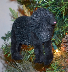 Brushart Gorilla Ornament