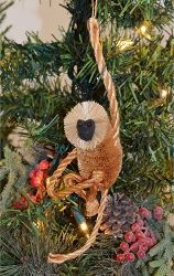 Brushart Spider Monkey Ornament