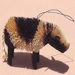Brushart Cow Ornament