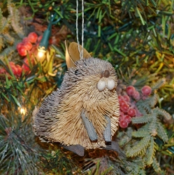 Brushart Rabbit Ornament