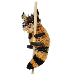 Brushart Raccoon on a Stick