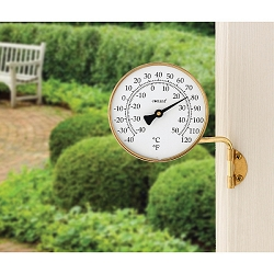 Vermont Dial Thermometer Brass