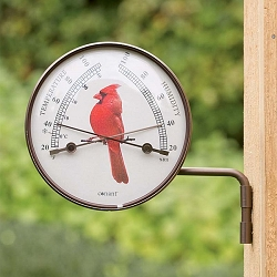 Cardinal Outdoor Comfortmeter Bronze Patina