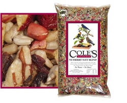 Cole's Nutberry Suet Blend Bird Seed 10#