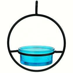 Sphere Hanger Mealworm & Jelly Feeder Aqua Set of 2