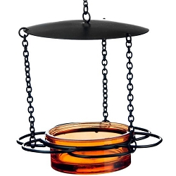 Hanging Floral Mealworm & Jelly Feeder 21