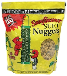 Sunflower Suet Nuggets 27 oz. 6/Pack