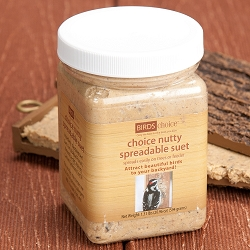 Choice Nutty Spreadable Suet 21 oz. Jar 3/Pack