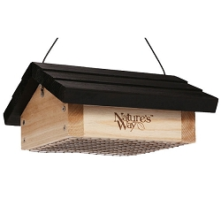 Cedar Series Upside Down Suet Feeder