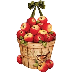 Apples Galore Door Decor