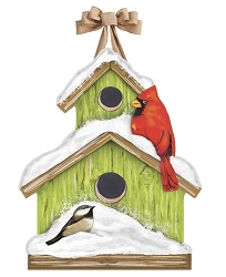 Winter Home Door Decor