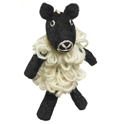 Wild Woolies Sheep Finger Puppet Ornament