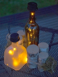 AfterGlow Solar Bottle Lantern Kit