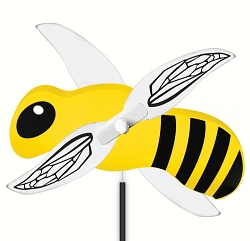 Bumble Bee Whirlygig with Pole