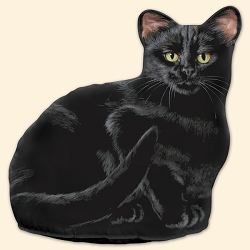 Black Cat Doorstop