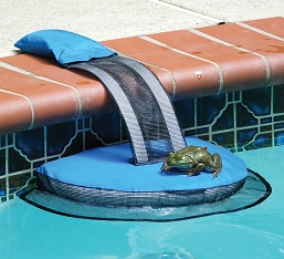 Frog Log Swimming Pool Critter Escape Ramp