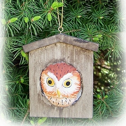 Owl House Ornament