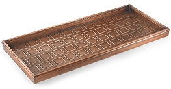 Squares Multi-Purpose Boot Tray Venetian Bronze