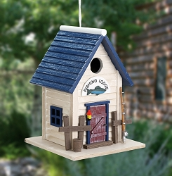 Hatchling Series Fishing Lodge Birdhouse