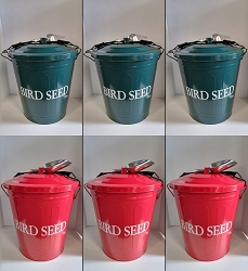 Bird Seed Storage Containers Set of 3