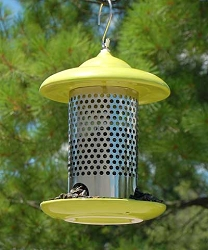 Bird Stop Ceramic Feeder Green