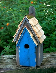 Bluebird Manor Bird House